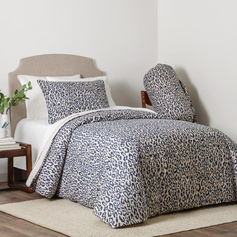 Kenley 4-piece Animal Print Full/Queen Comforter Set