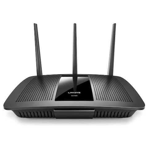 Linksys Dual-Band Smart Wireless Router (Certified Refurbished) - Black - 4.8 x 13 x 9.4
