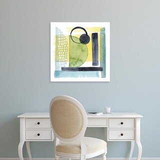 Easy Art Prints Grace Popp's 'Refractions IV' Premium Canvas Art