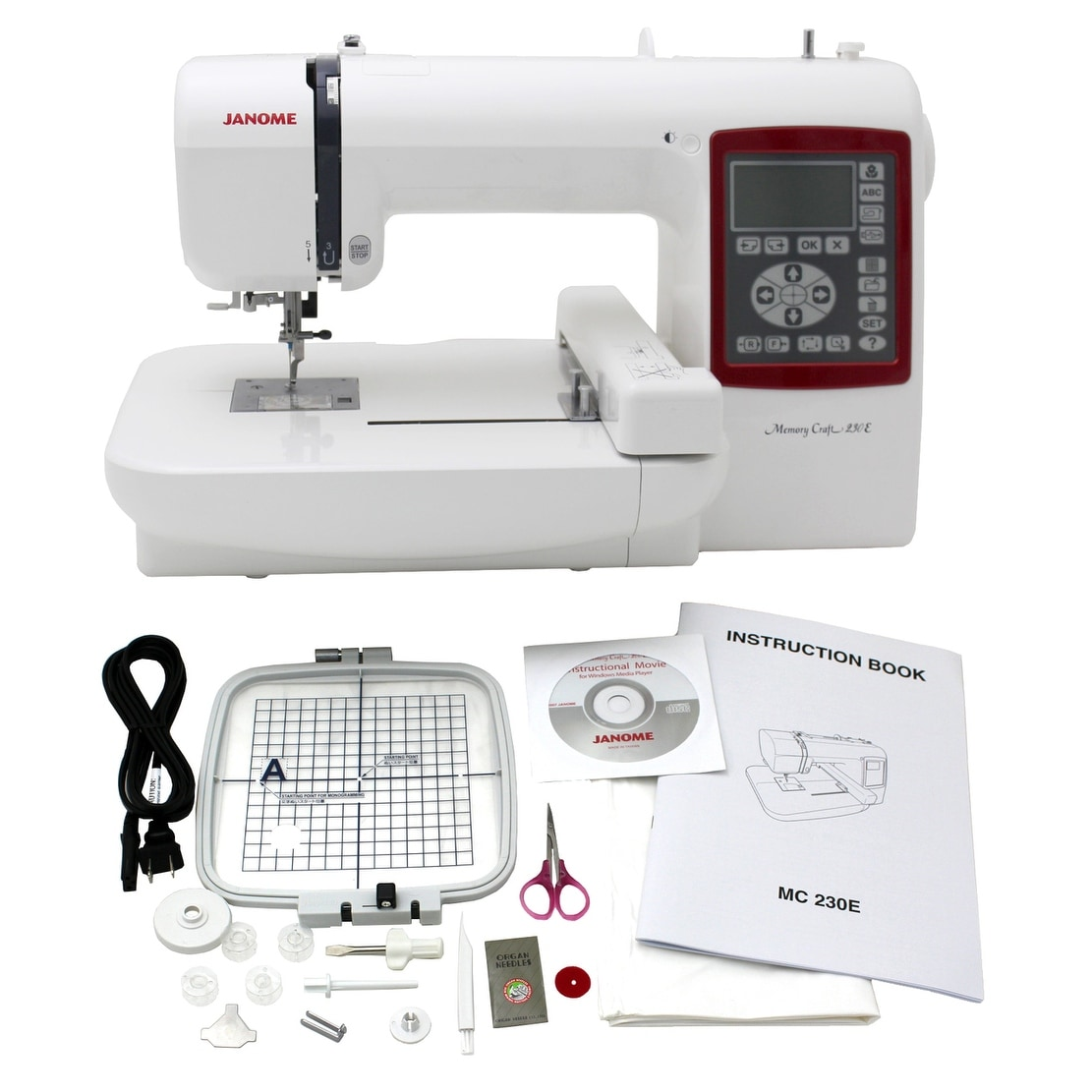 Janome 200E Small Embroidery Hoop