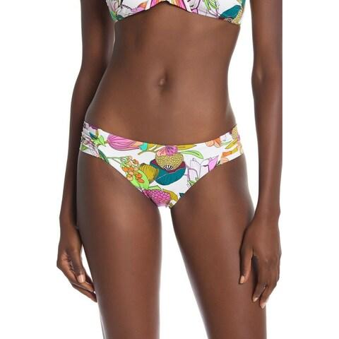 Trina Turk White Womens Size 6 Hipster Bikini Bottom Swimwear