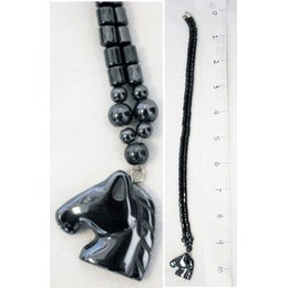 "Ddi Magnetic Hematite Necklaces 17-18"" Horse Pendant (pack Of 120)"