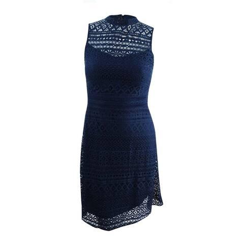 Jessica Simpson Women's Lace Back-Cutout Dress
