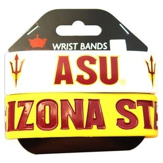Arizona State University Rubber Wrist Band Set