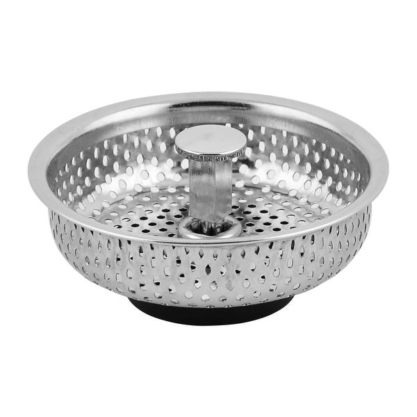 Washroom Kitchen Stainless Steel Sink Residue Ss Filter Strainer Stopper