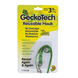 GeckoTech 282312 Reusable Hook with Microsuction Technology