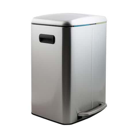 Neu Home 40 L Dual Compartment Recycling Bin