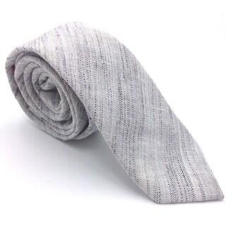 Original PENGUIN NEW Gray Men's One Size Traditional Woven Neck Tie