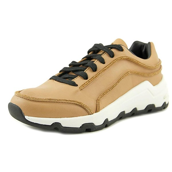 Opening Ceremony Iggie Women Leather Tan Fashion Sneakers