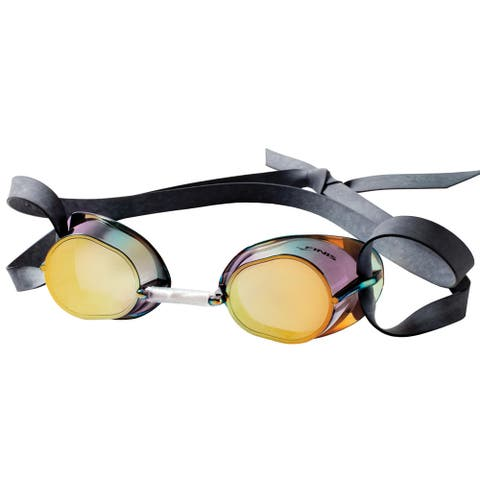 FINIS Dart Swim Goggles - Gold/Mirror
