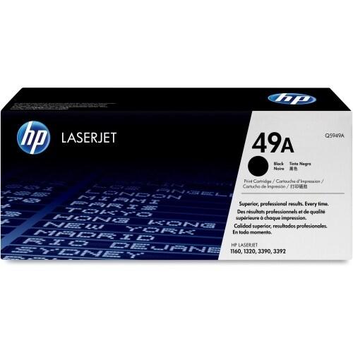 HP 49A Black Original LaserJet Toner Cartridge (Single Pack) Toner Cartridge