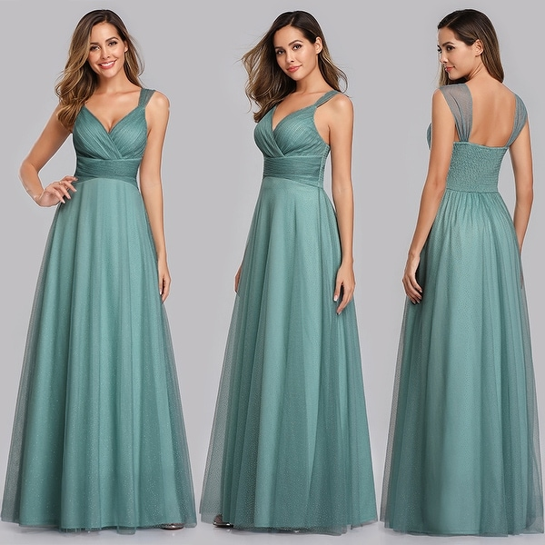 Shop Ever-Pretty Womens Elegant Tulle Pink Long Maxi