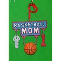 Basketball Mom Charms Sport Dangle Christmas Ornament