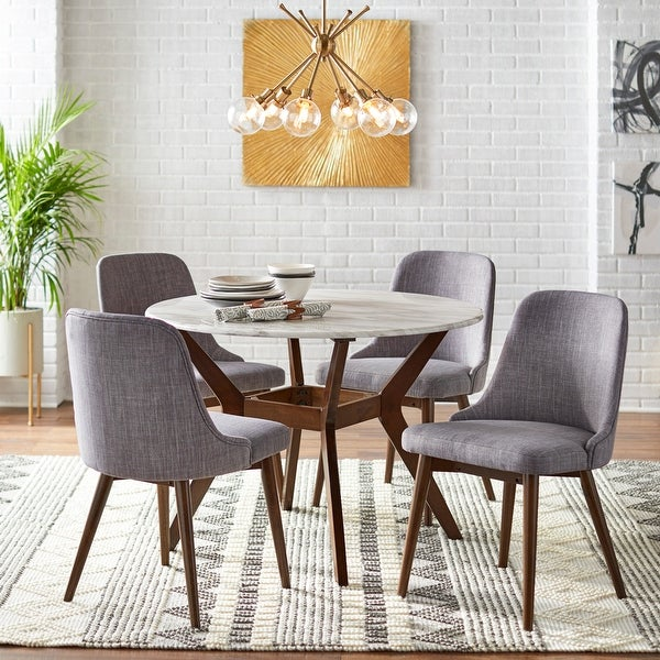 Carson Carrington Tornio 5-piece Round Dining Set. Opens flyout.