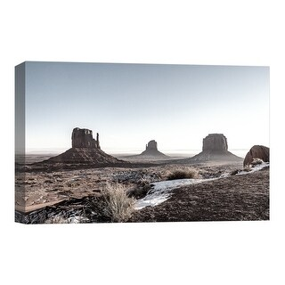 """PTM Images 9-124811  PTM Canvas Collection 8"""" x 10"""" - """"Into the Desert"""" Giclee Deserts Art Print on Canvas"""