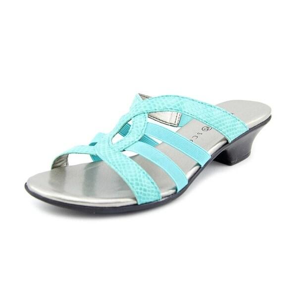 Karen Scott Emet Turquoise Sandals