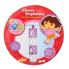 Dora the Explorer 4 Tier Hanging Purple Mesh Storage Organizer