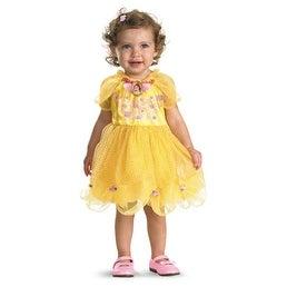 Belle Disney Girls 12-18 Months Yellow Costume Dress - 12-18 Months