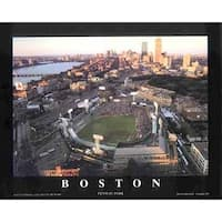 ''Boston, Massachusetts - Fenway Park'' by Mike Smith Stadiums Art Print (22 x 28 in.)