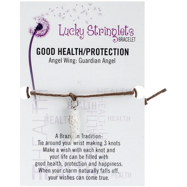Lucky Stringlets Bracelet-Angel Wing Charm
