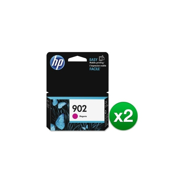 HP 902 Magenta Original Ink Cartridge (T6L90AN) (2-Pack)