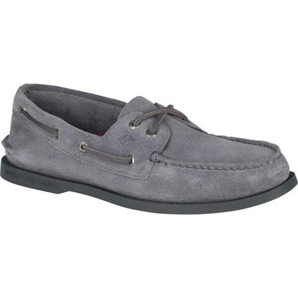 Authentic Original Boat Shoe Grey Suede