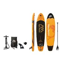"Aqua Marina Fusion 10' 10"" (6"" Thick) Stand Up Paddle Board Inflatable SUP"