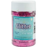 Glitter 4oz-Metallic Petal Pink