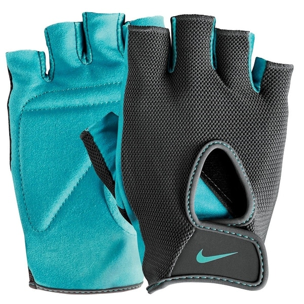 5238ec479c Shop Nike Women's Fundamental Training Gloves II Dark Grey Clear Jade Size  Large - Free Shipping On Orders Over $45 - Overstock - 28165970