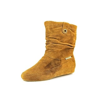 Bearpaw Travel Boot Women  Round Toe Suede Brown Boot