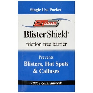 2Toms Single Use Blister Shield Friction Free Powder - 1 Packet - White