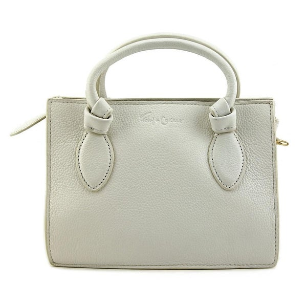 Foley + Corinna Gabby Crossbody Women Leather Messenger - White