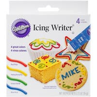 Icing Writer .68oz 4/Pkg-Primary