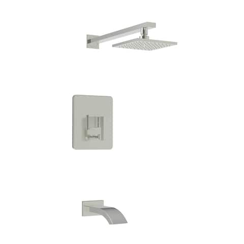 Newport Brass 3-8702BP Blayne Tub and Shower Trim Package with 1.8 GPM Single Function Shower Head -