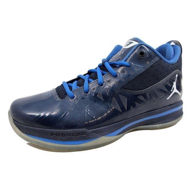 31cf7d2a235d3a Shop Nike Men s Air Jordan CP3 V 5 Obsidian White-Game Royal 487428 ...