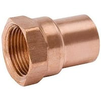 Mueller Industries W 61263 1 in. Female Pipe Thread Copper Adapter