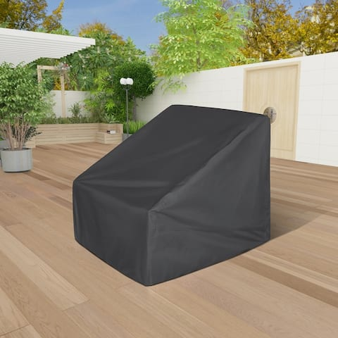 Anders Heavy Duty Shielded Outdoor Water Resistant Patio Chair Cover
