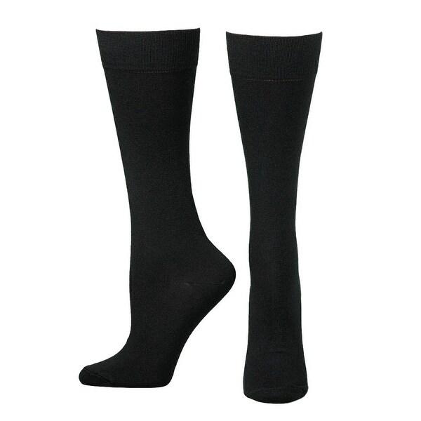 Boot Doctor Socks Mens Thin Comfort Fit Lightweight Boot Black