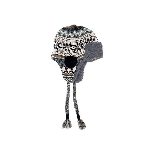 a3e213344824f Shop Muk Luks Hat Mens Trapper Over Ear Faux Fur One Size Brown 00 - Free  Shipping On Orders Over  45 - Overstock.com - 18216131