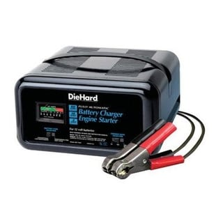 Die Hard 71222 Automatic Battery Charger & Engine Starter, 2 Amp