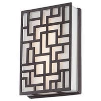 Kovacs P1221-287-L LED ADA Wall Sconce from the Alecia's Necklace Collection - sand bronze