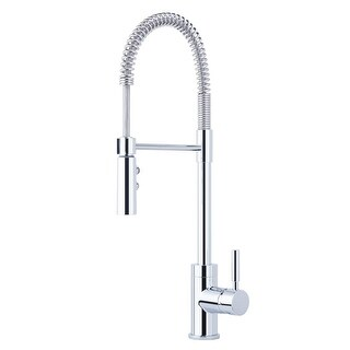 Miseno MK6557 Commercial Style Pre-Rinse Kitchen Faucet - Includes Lifetime Warr