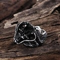 Vienna Jewelry The Ancient Dragon Stainless Steel Ring - Thumbnail 1