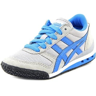 Onitsuka Tiger by Asics Ultimate 81 Ps Youth Round Toe Canvas Gray Sneakers