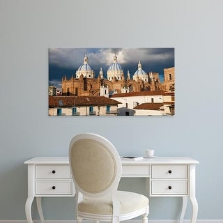 Easy Art Prints Panoramic Image 'Immaculate Conception Cathedral, Cuenca, Azuay Province, Ecuador' Canvas Art