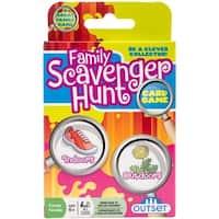 Family Scavenger Hunt Card Game-