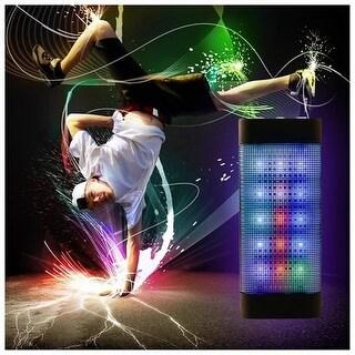 Wireless Bluetooth Handsfree Flashing Speaker Powerful Microphone for iphone6/6 plus Samsung Galaxy