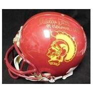 Signed Trojans USC Charles White Marcus Allen Full Size Riddell USC Trojans Helmet by Charles Whit