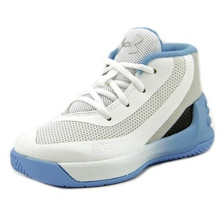 Under Armour Inf Curry 3 Round Toe Synthetic Basketball Shoe
