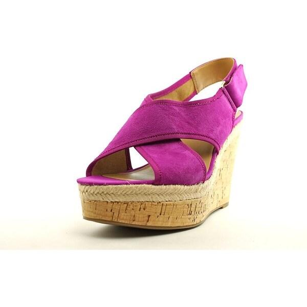 Franco Sarto L-Taylor Women Fuschia Sandals